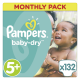 Pampers Baby-Dry - Monatsbox
