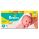 Pampers Premium Protection New Baby Gr.1 Newborn 2-5kg HalbmonatsBox, 96 Stück