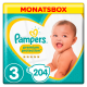 Pampers Premium Protection Gr. 3 Midi 6-10kg MonatsBox, 204 Stück - <Titel>