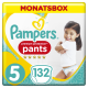 Pampers Premium Protection Pants Gr. 5 Junior 12-17kg Monatsbox, 132 Stück