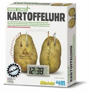 Green Science – Kartoffeluhr