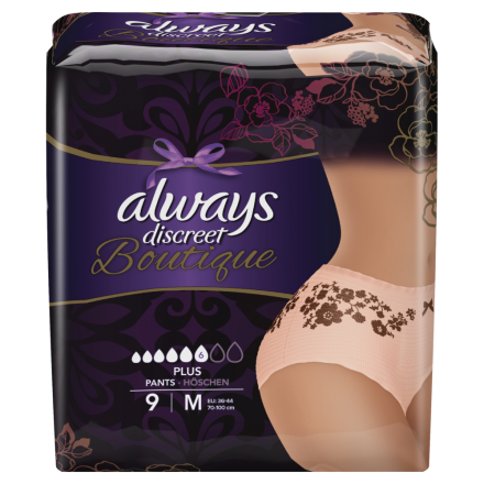 always Discreet Boutique Inkontinenz Pants Plus M 9