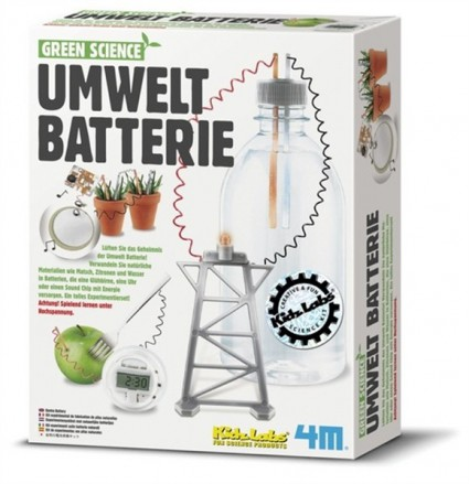Green Science - Umwelt Batterie