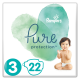 Pampers Pure Protection Gr. 3 Midi 6-10 kg Tragepack, 22 Stück - <Titel>