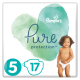 Pampers Pure Protection Gr. 5 Junior 11+ kg Tragepack, 17 Stück - <Titel>