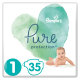 Pampers Pure Protection Probierpack: 35 St. Windeln Gr.1 + 96 St. Feuchttücher - <Titel>