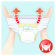 Pampers Baby Dry Pants Gr. 7 Extra Large Plus 17+ kg Monatsbox, 104 Stück - <Titel>
