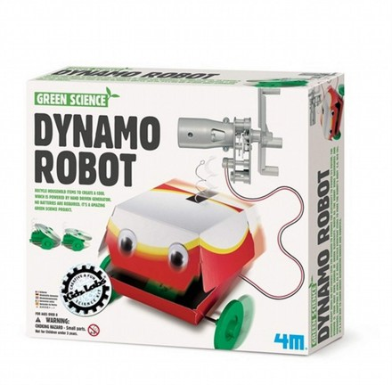 Green Science – Dynamo Roboter