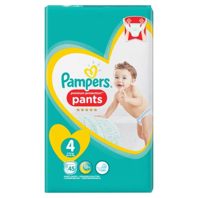 Pampers Premium Protection Pants Gr.4 Maxi 9-15kg Jumbopack, 45 Stück Windeln