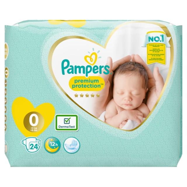 Pampers New Baby Micro, 24 Stück Windeln für Neugeborene