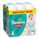Pampers Baby Dry Pants Gr.4 Maxi 8-14kg MonatsBox